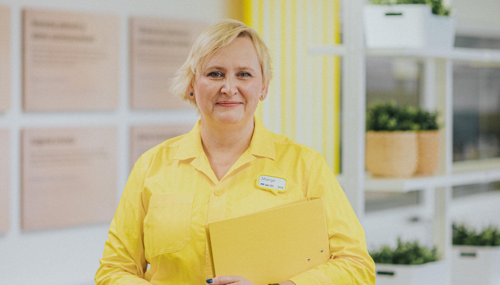 IKEA Eesti inimeste ja kultuuri partner Marge Litvinov