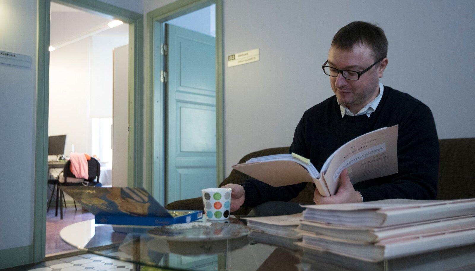Tallinna ringkonnakohtu esimees Villem Lapimaa