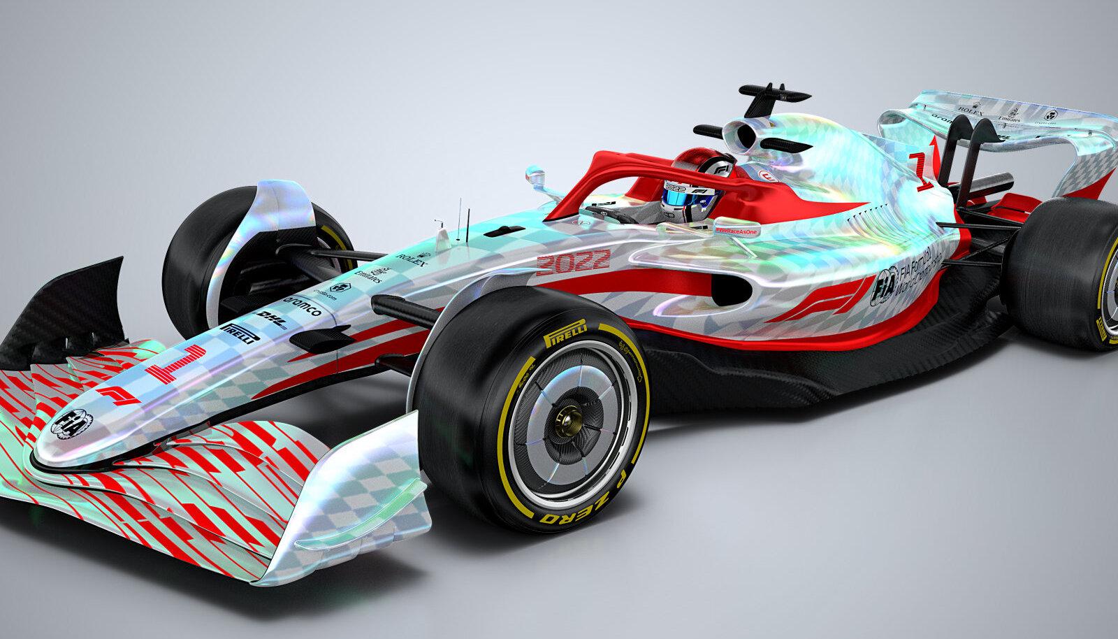 F1 uus auto