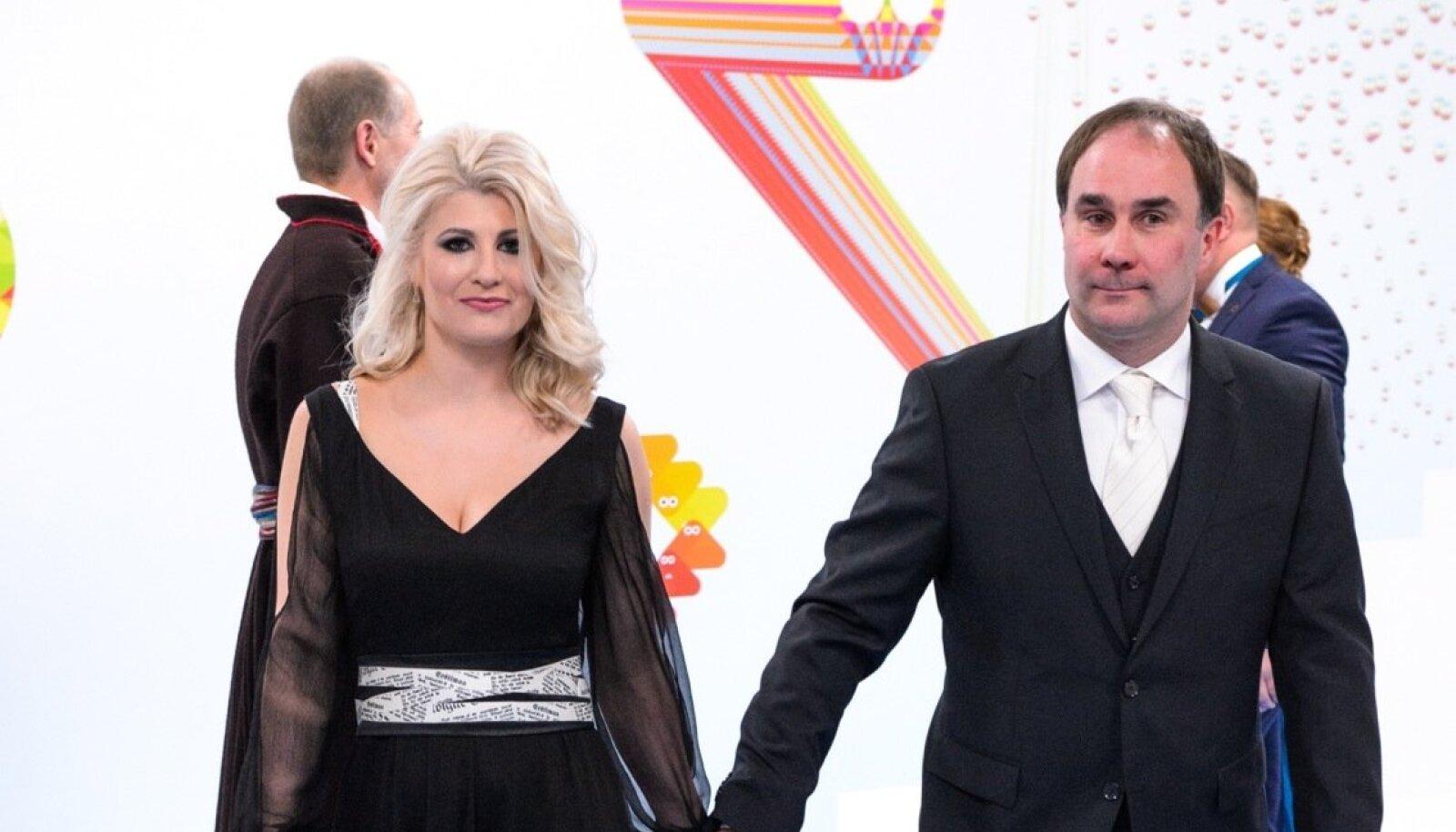 Kultuuridiplomaatia edendaja Meelis Kubits ja riigikogu liige Viktoria Ladõnskaja-Kubits