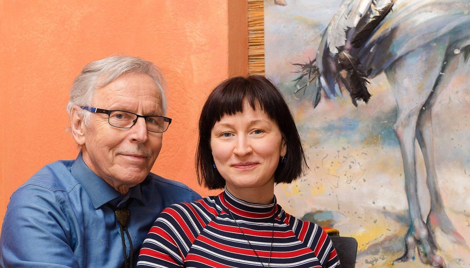 Enn ja Katrin Tegova