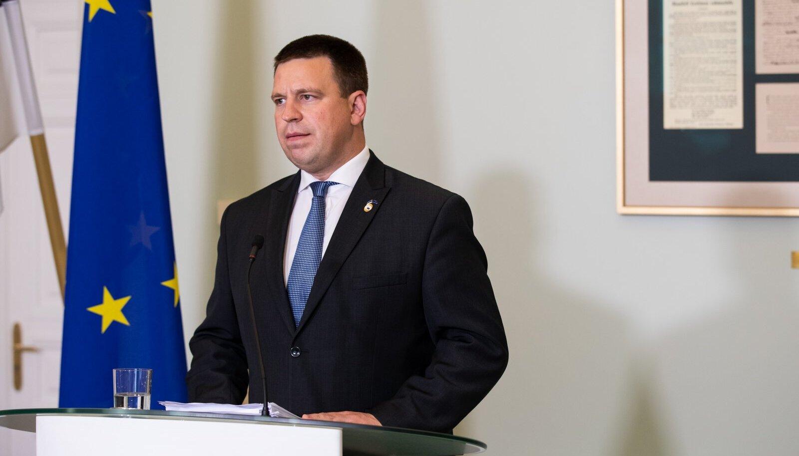 21.07.2020. Jüri Ratas selgitas Euroopa Liidu abipaketi tagamaid.