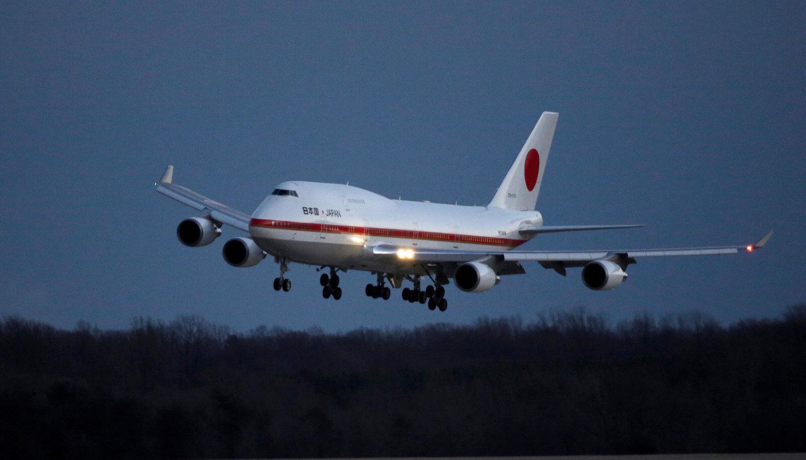 Jaapani peaministri lennuk