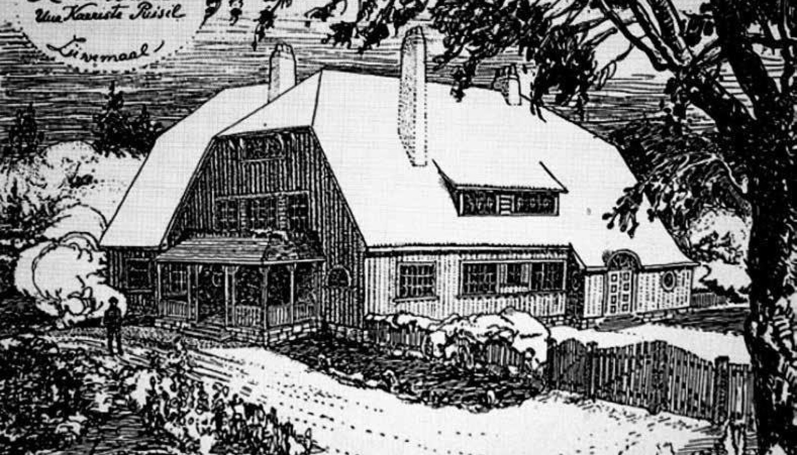 Pildil olev arhitektide Artur Perna ja Karl Burmani joonestatud Puisi talu vaade pärineb 1913. aastal ilmunud ajakirjast Põllumajandus.