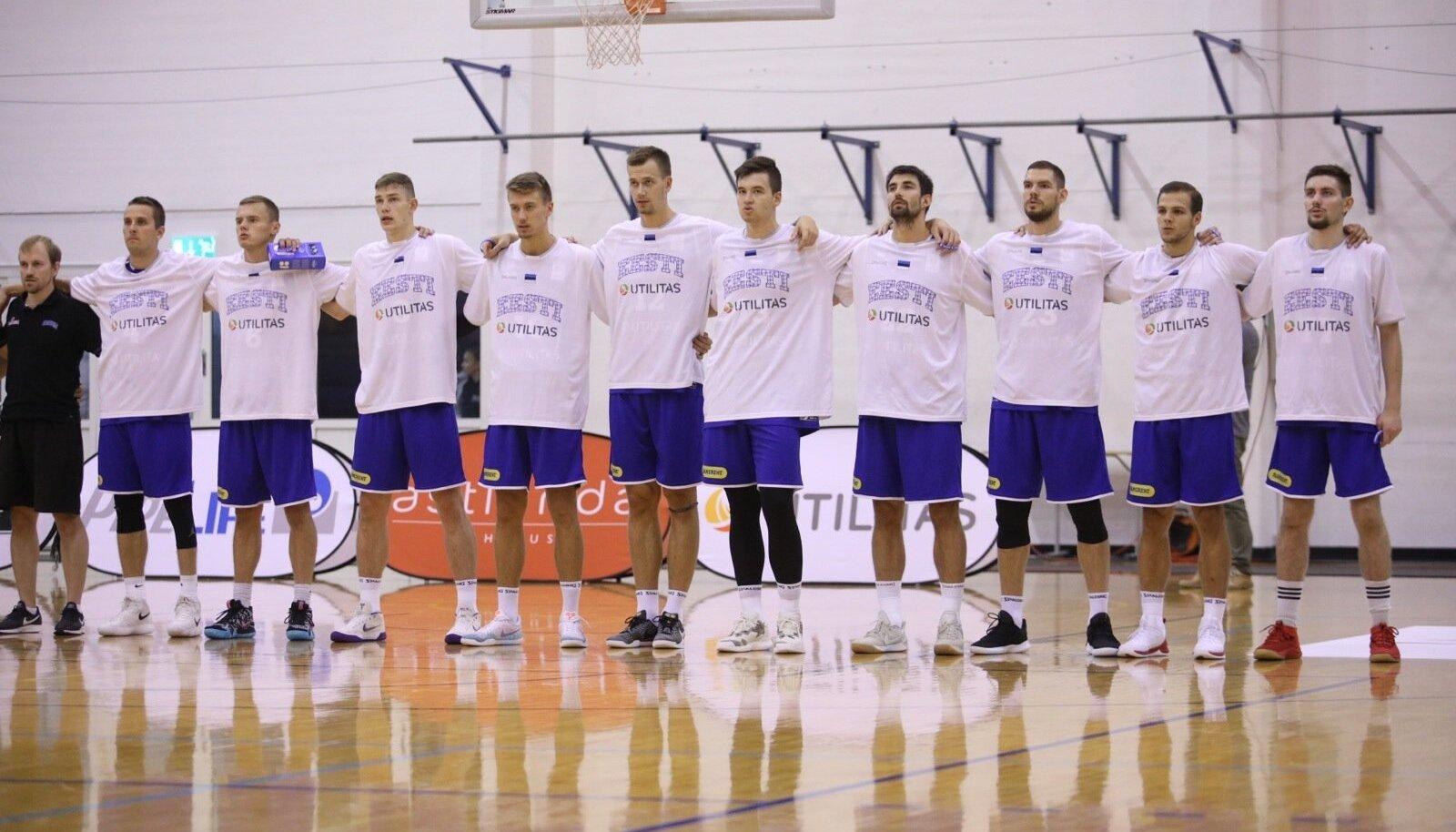Eesti korvpallikoondis. Tublid mehed, aga kvaliteet jääb kesiseks.