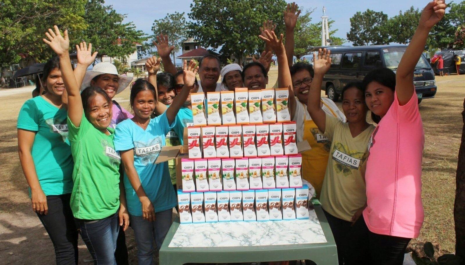 Kalakrõpsude tootmine Filipiinidel