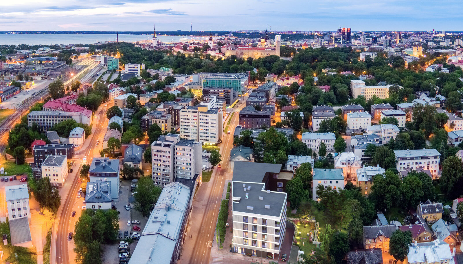 Matilda Maja asub kolme parima Tallinna piirkonna ühenduskohas: unikaalne vanalinn, hipsterlik Kalamaja ja õdus Kassisaba.