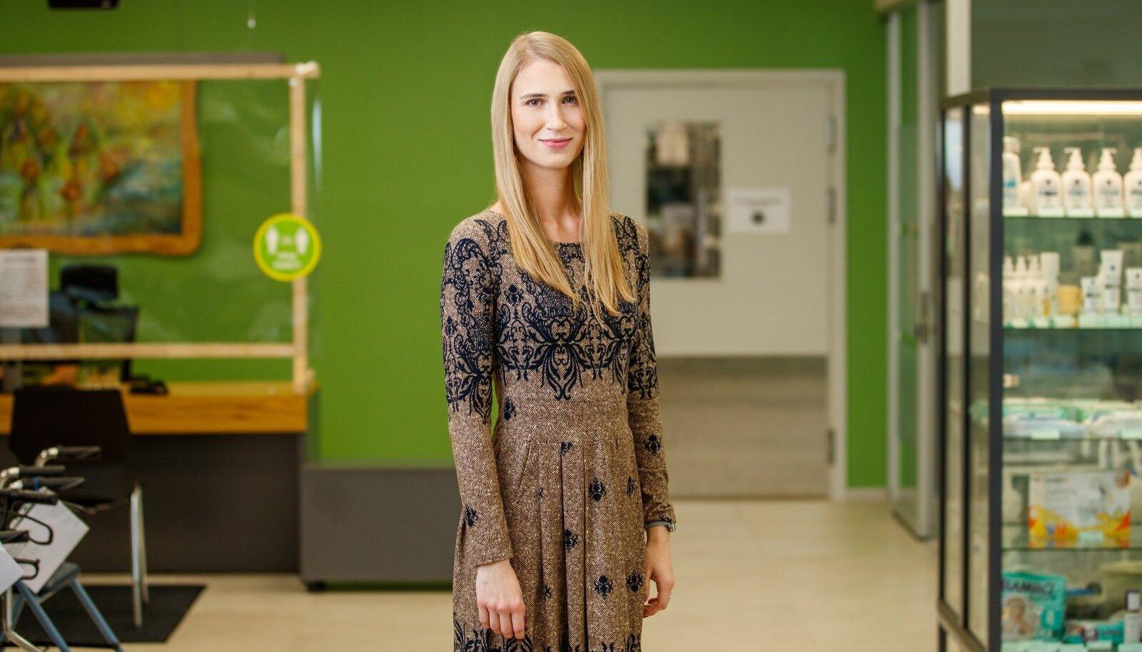 Invaru abivahendikeskuse füsioterapeut Tiina Trukits.