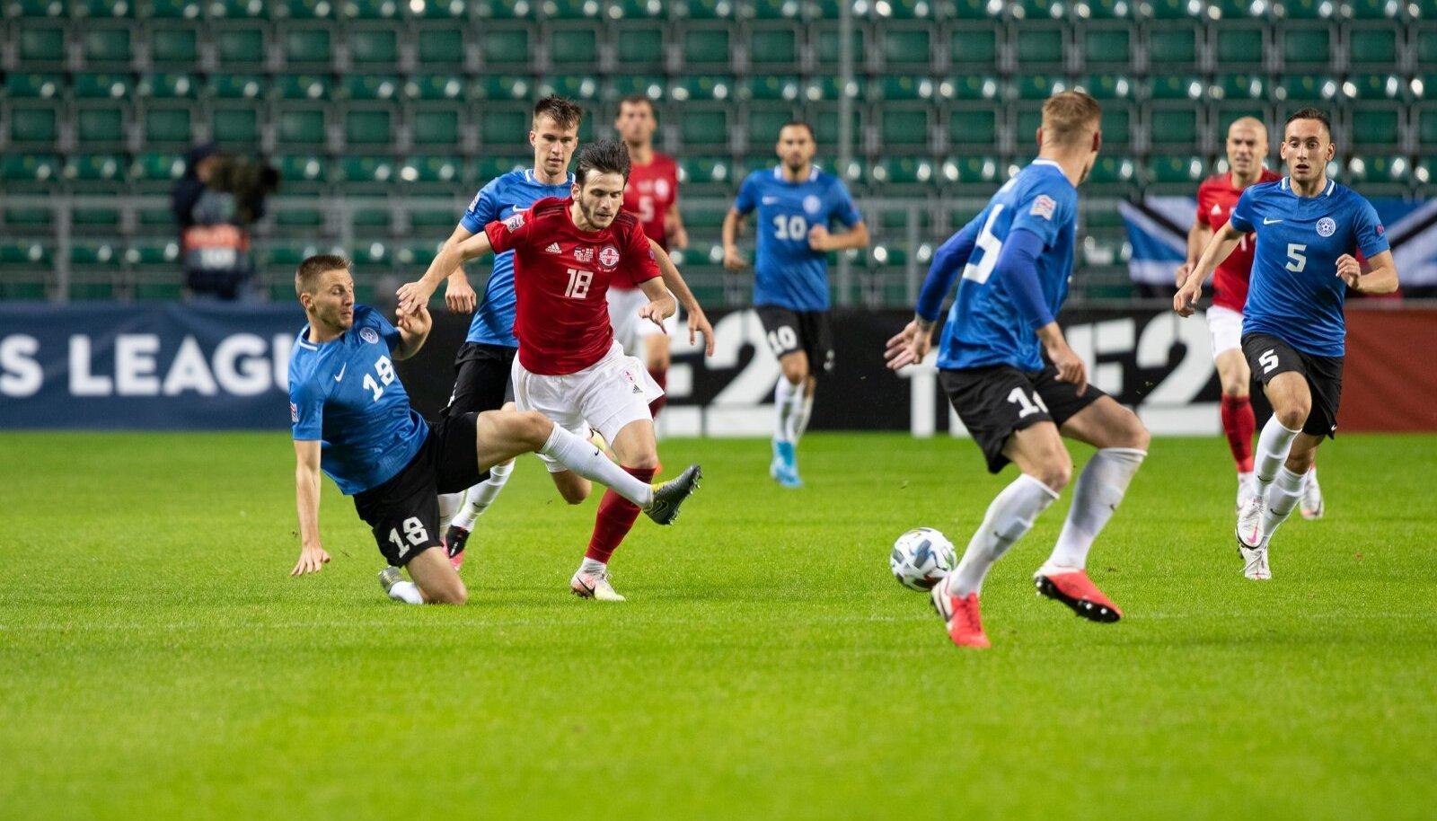 Eesti - Gruusia jalgpallikoondiste kohtumine