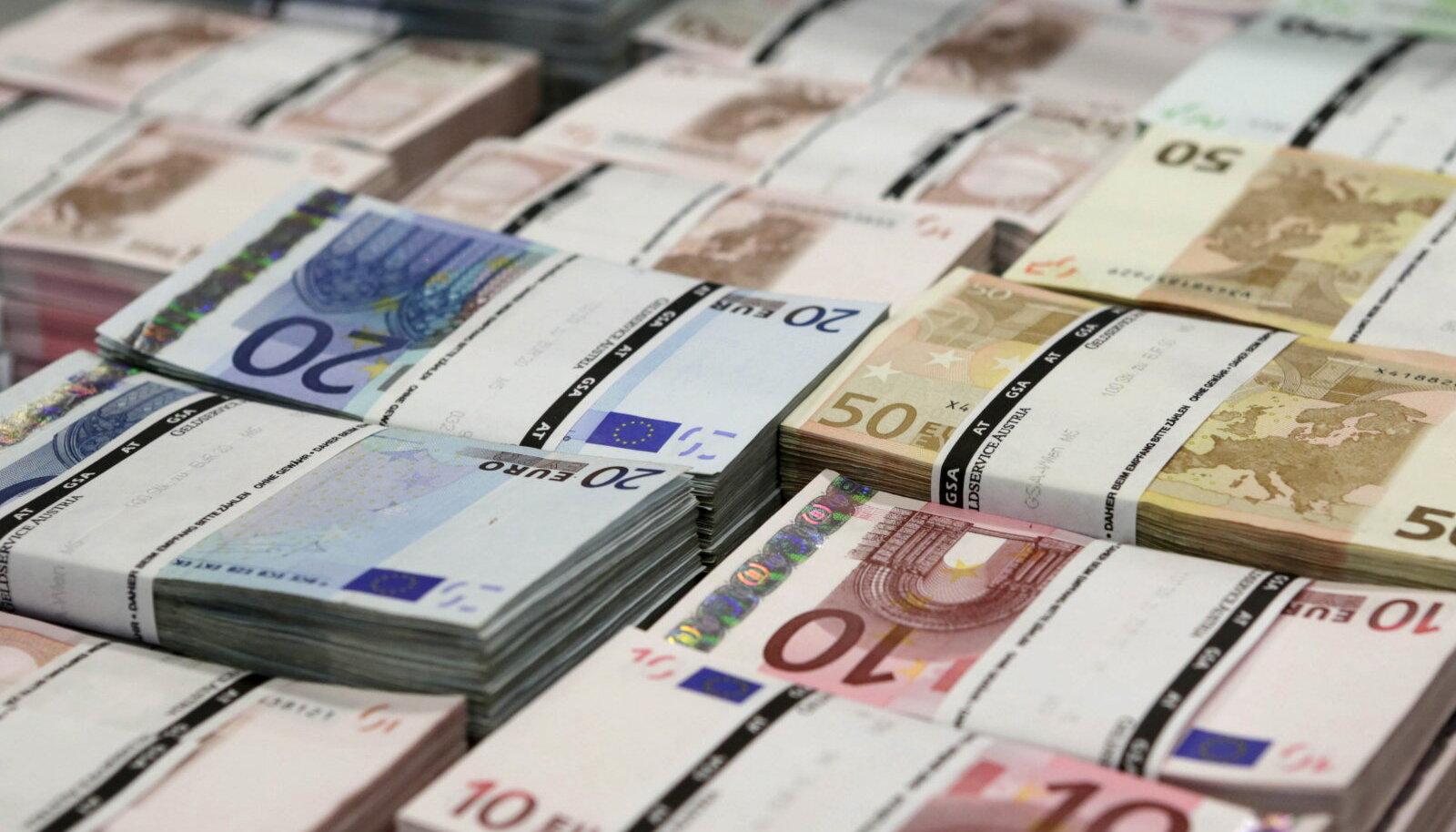 euro rahapakid