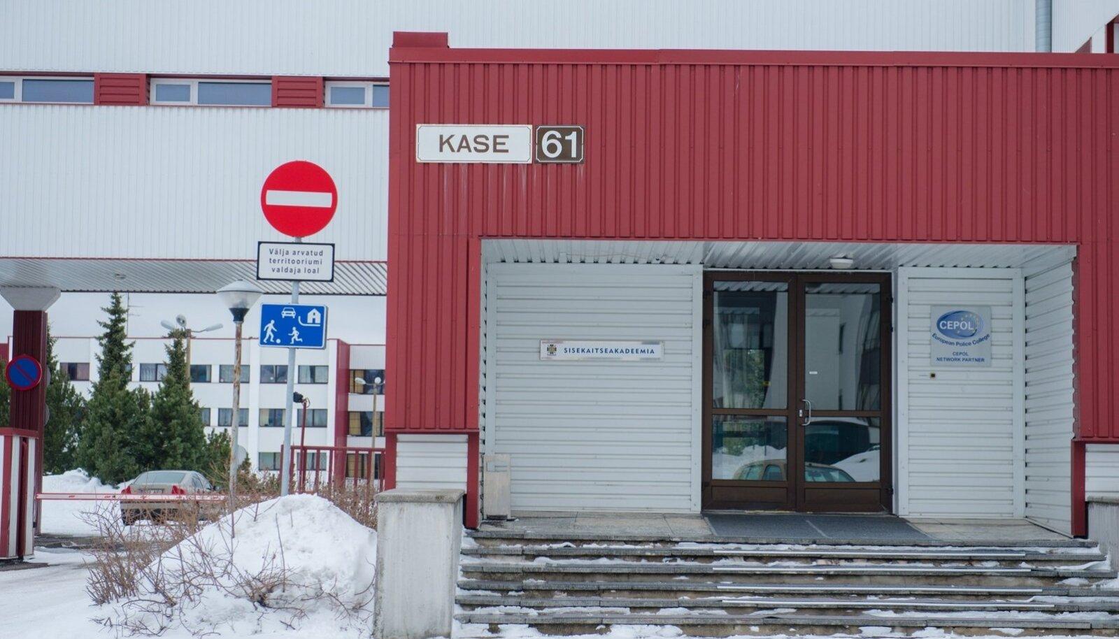 Sisekaitseakadeemia Tallinnas aadressil Kase 61.