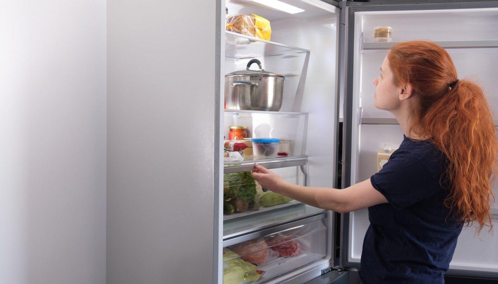 Tihedad külmiku avamised on enim levinud just noorte seas.