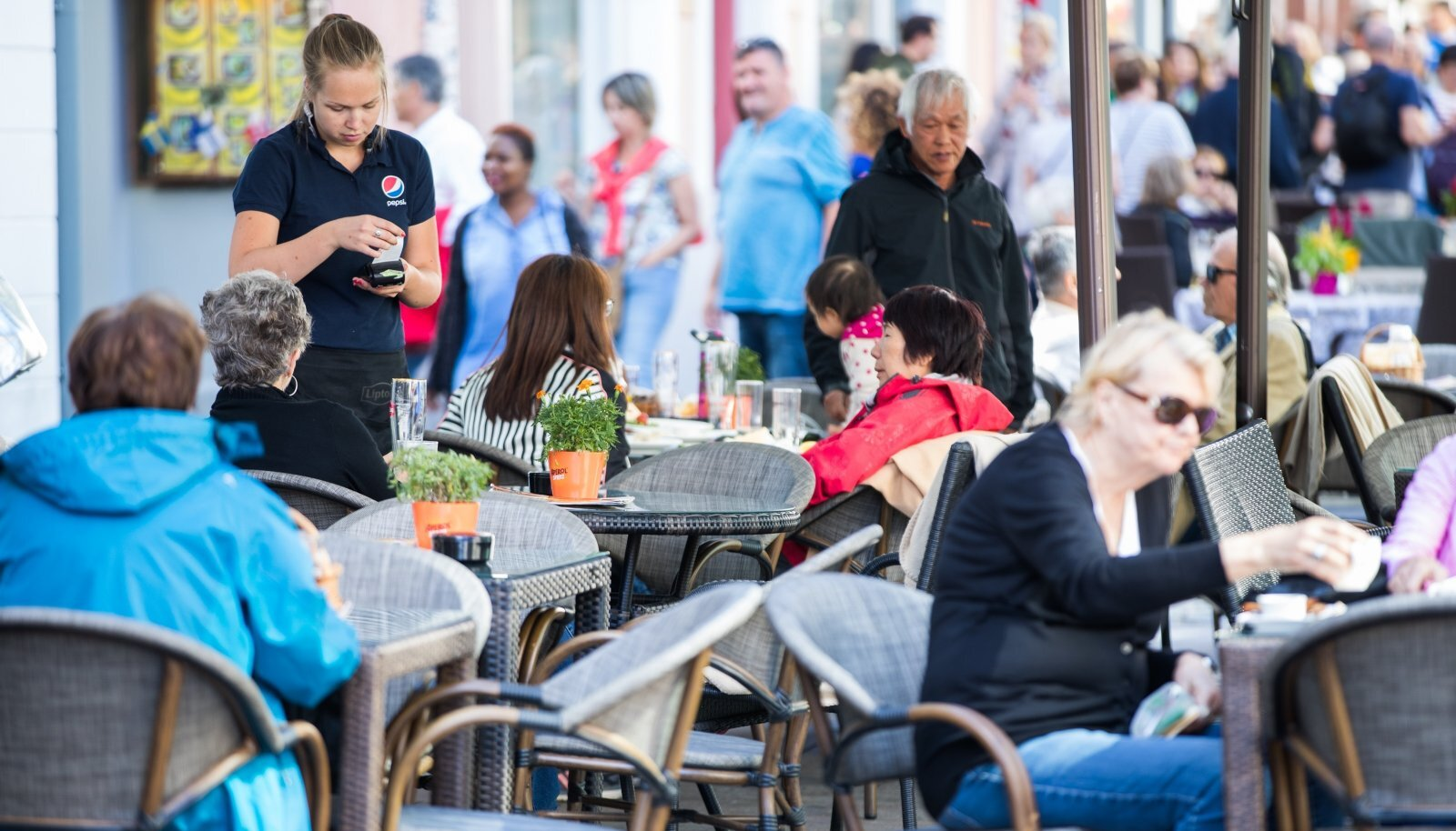 Teenindus Tallinna vanalinnas