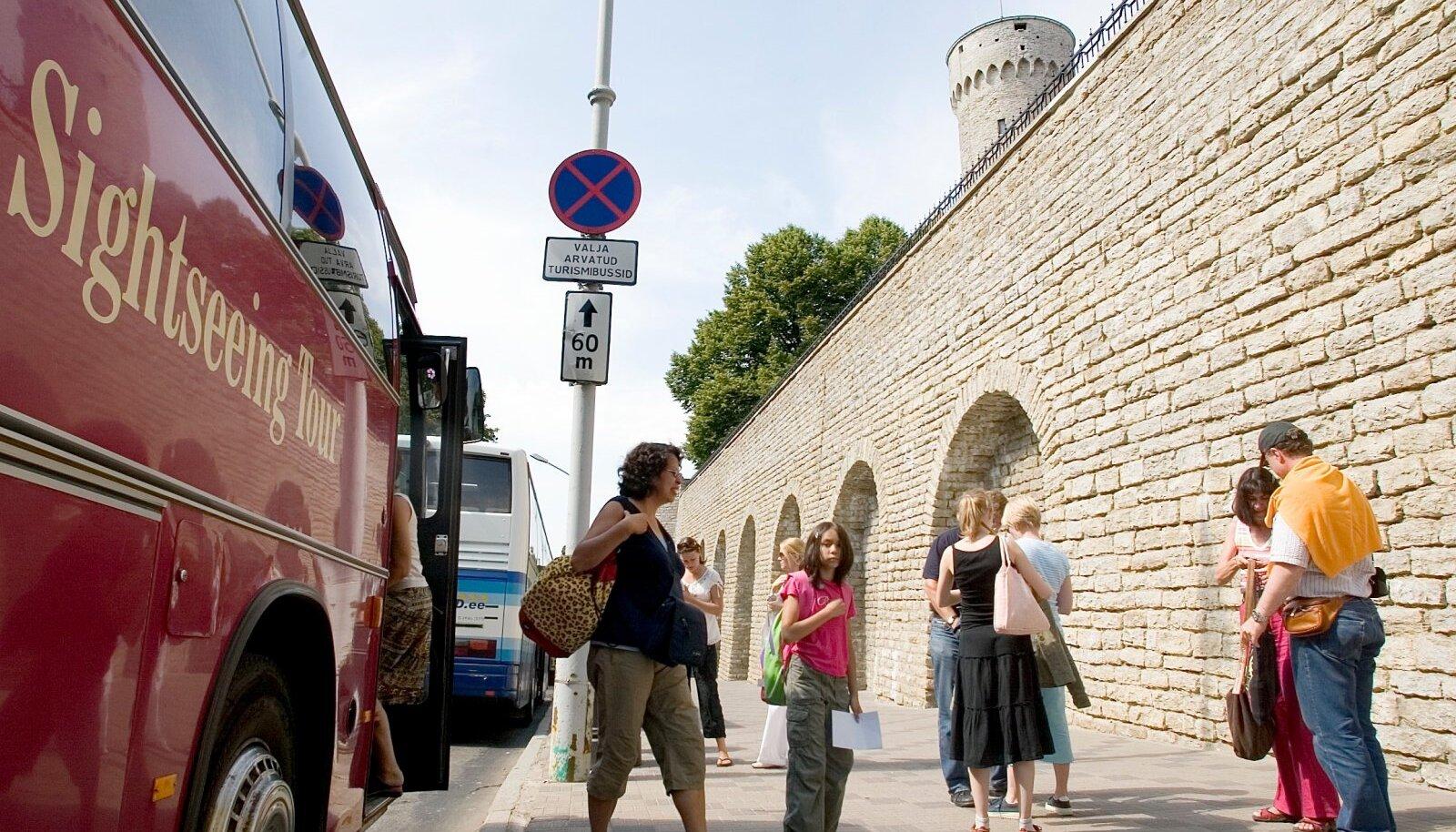 Turistid vanalinnas