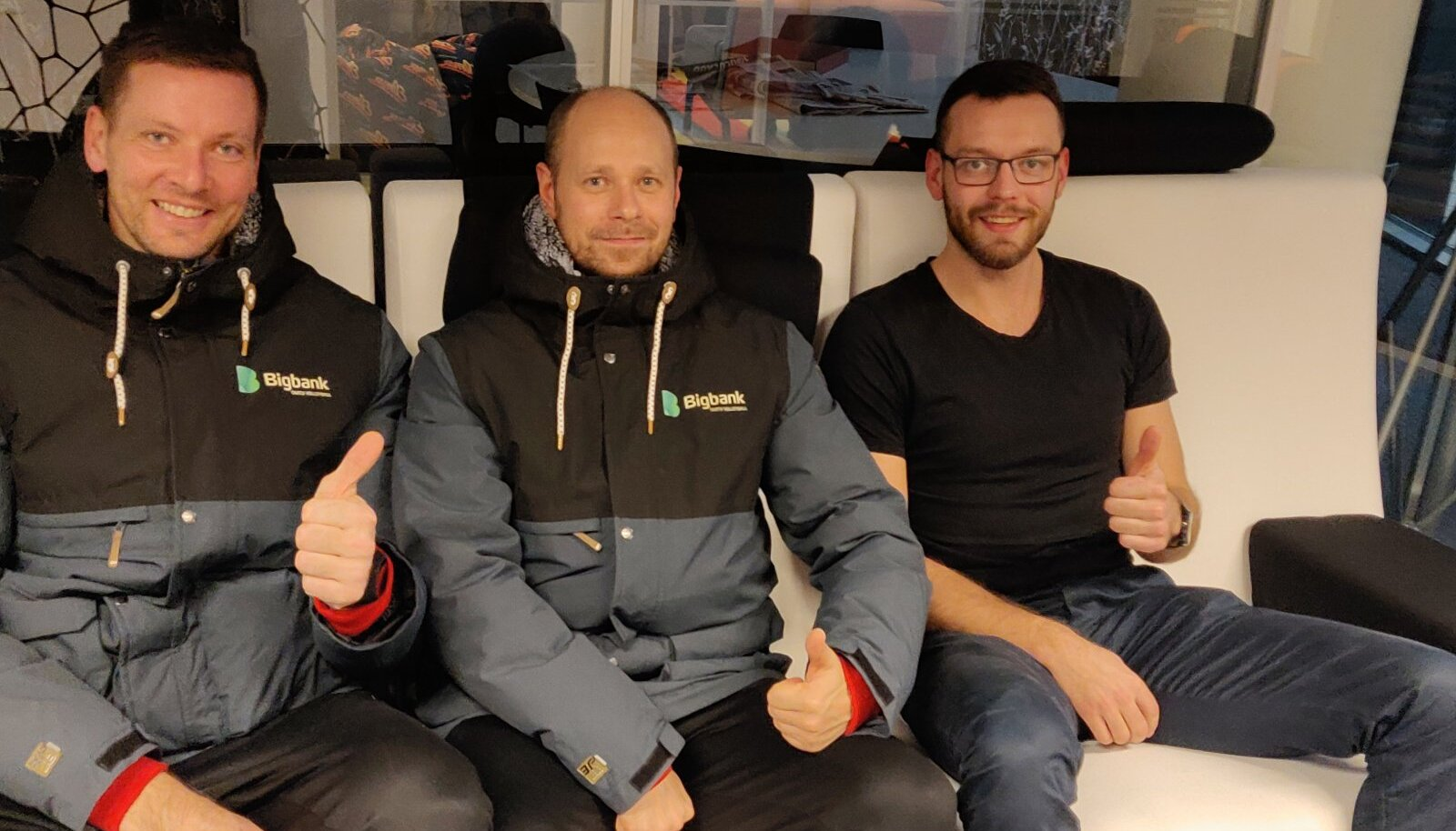 Argo Meresaar, Alar Rikberg ja Karl Rinaldo