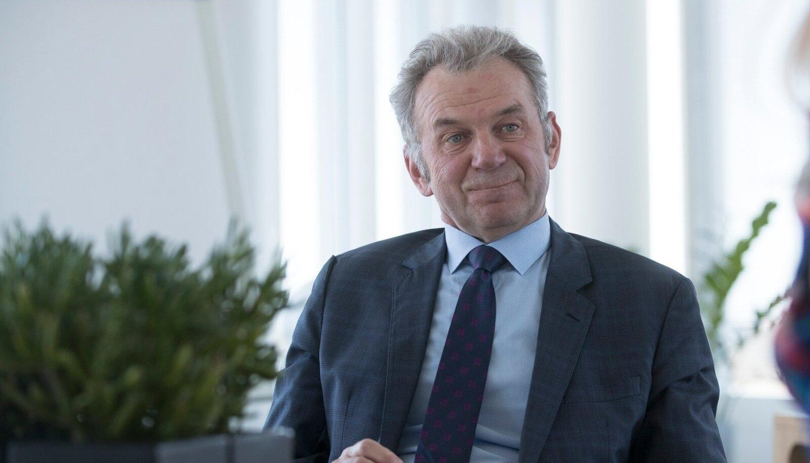 Eesti Raudtee juht Erik Laidvee