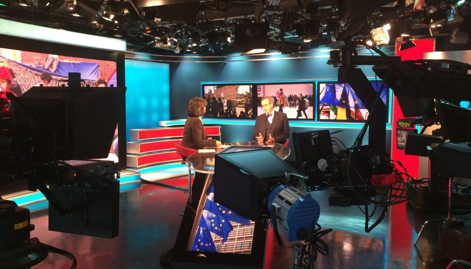 Ilves CNN-i stuudios