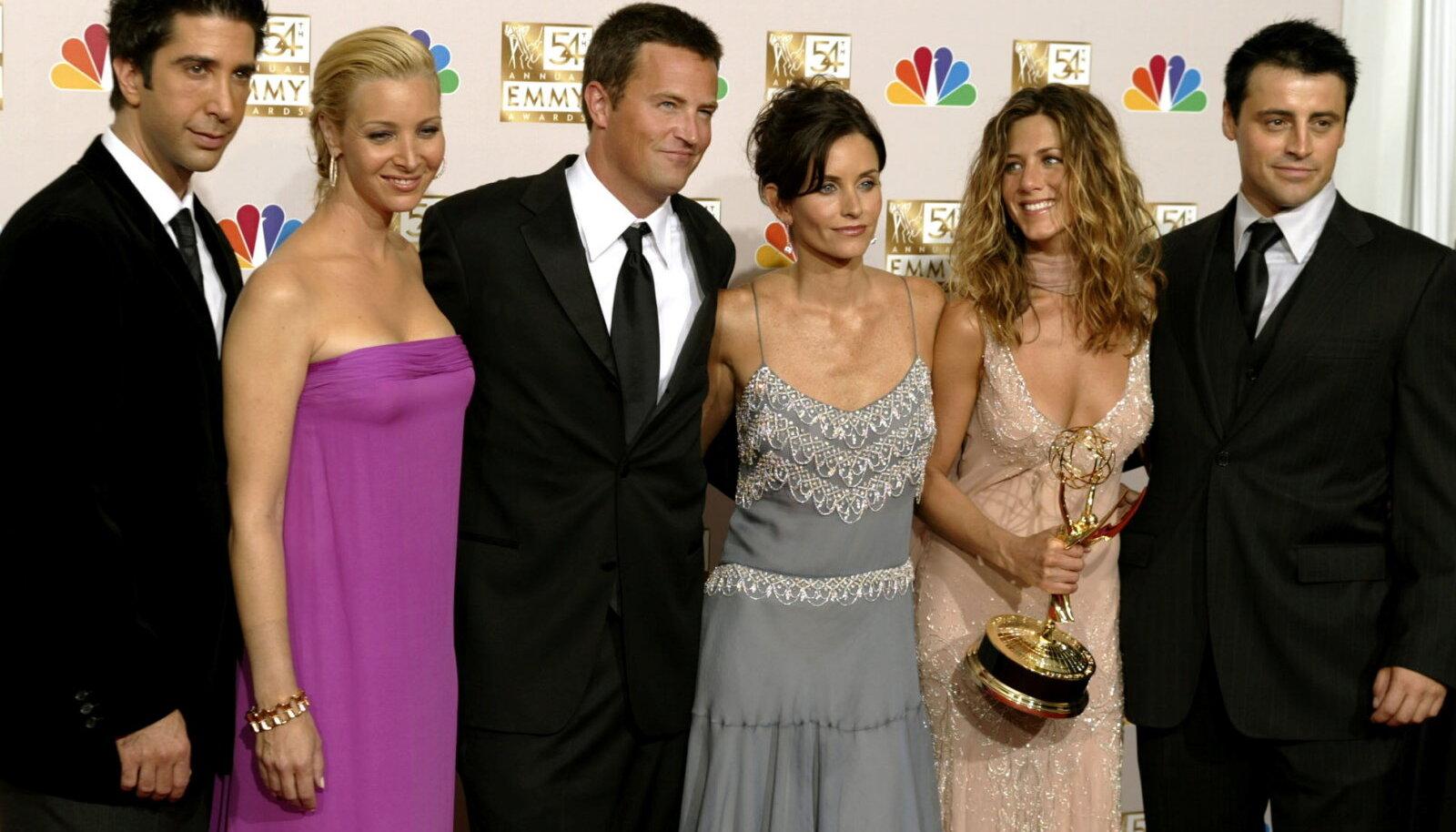 """""""Sõprade"""" osatäitjad, 2002"""