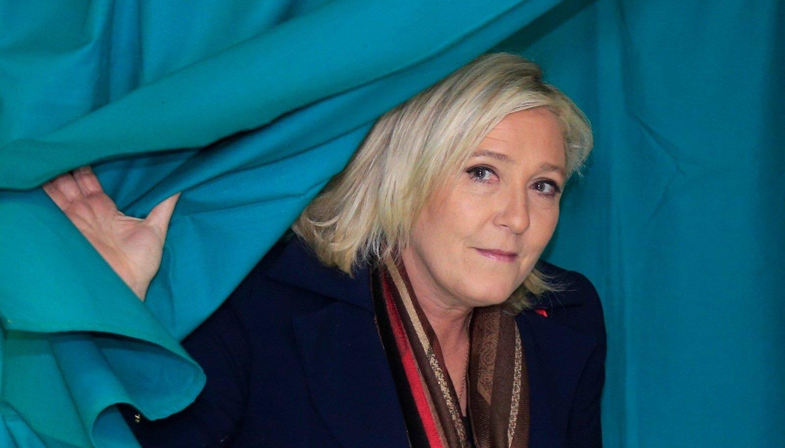 RAHUL: Marine Le Penil pole põhjsut end kohalike valimsite järel kaotajana tunda.