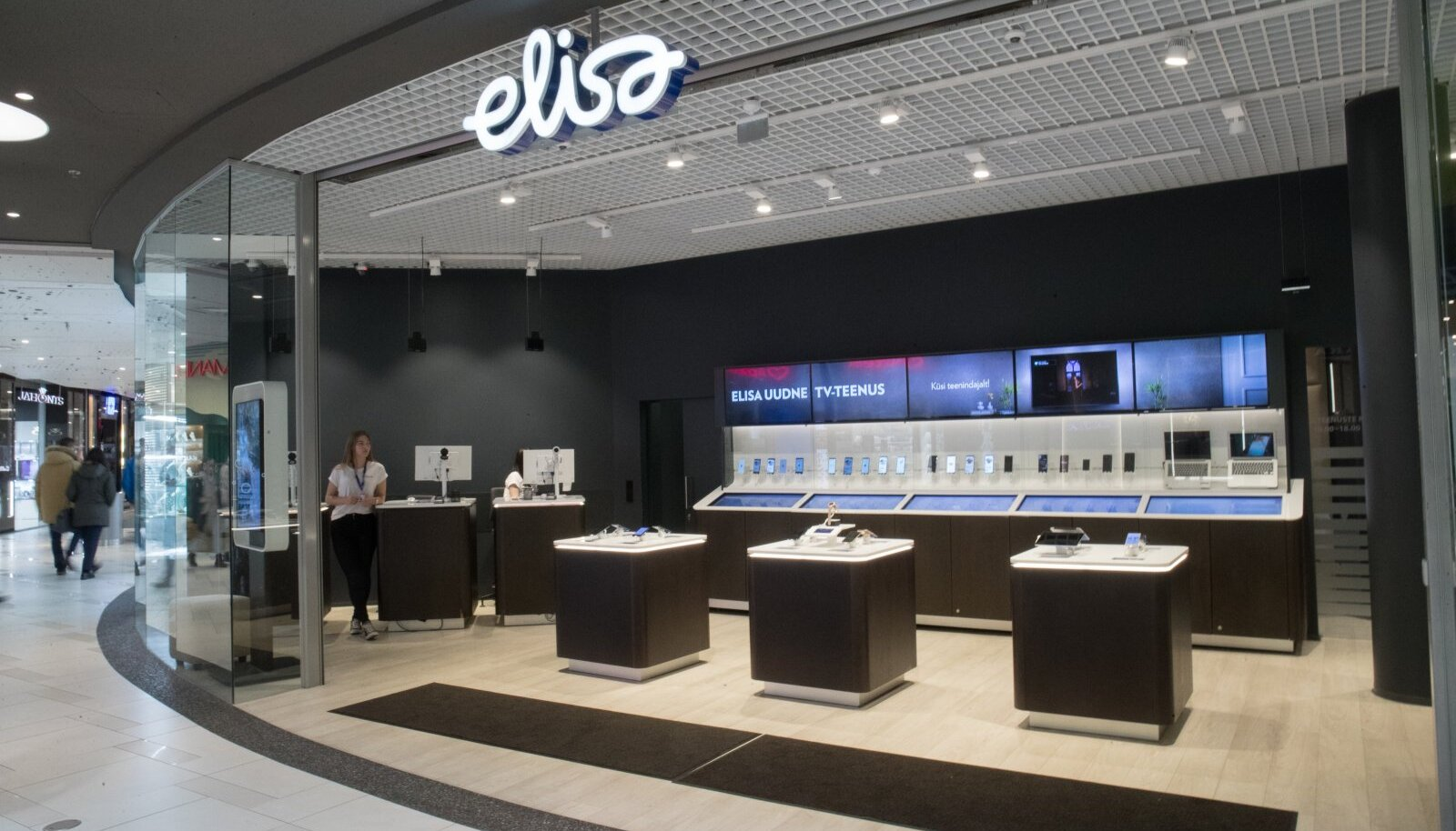 Elisa esindus