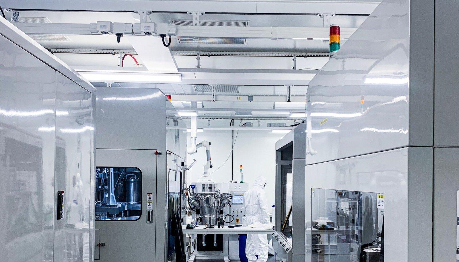 PÕHJA PINGE: Rootsis asuvas Northvolti laboris valmivad Euroopa kõige uuenduslikumad akud.