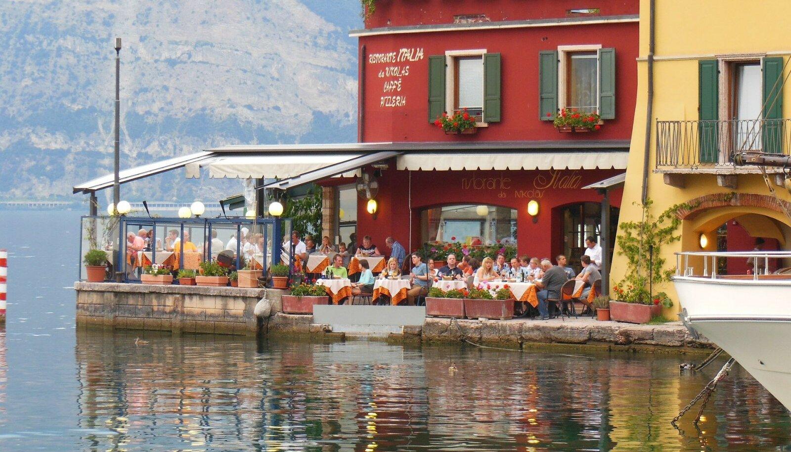 Garda järv, Itaalia