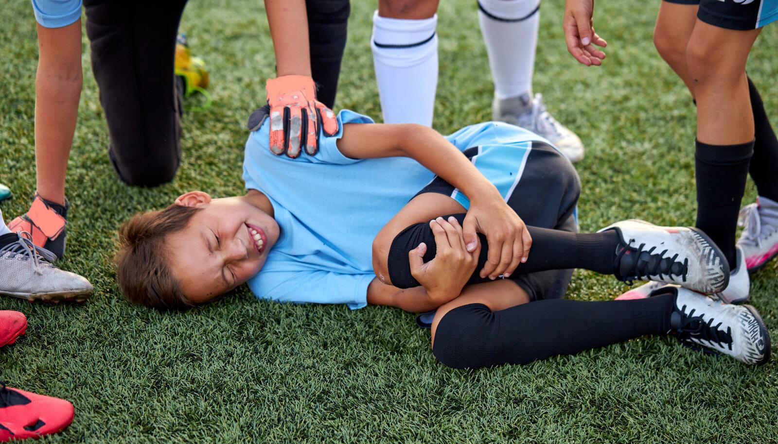Kõige enam said vigastusi pallimängude harrastajad.