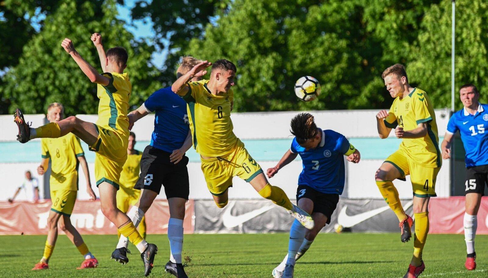 Eesti U19 vs Leedu.