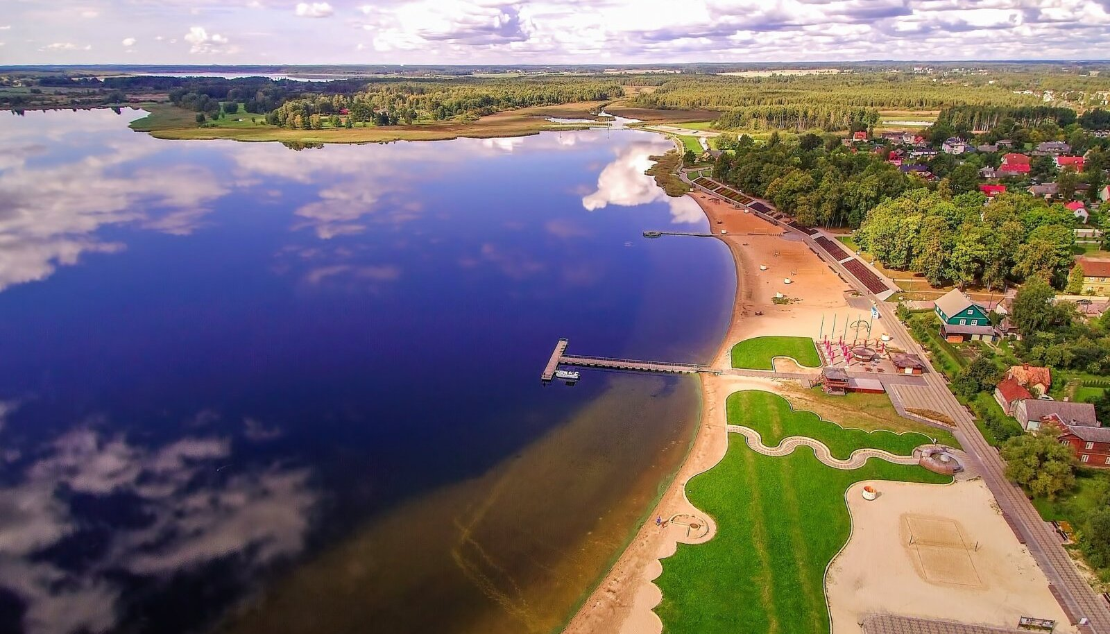 Tamula järv Võrus