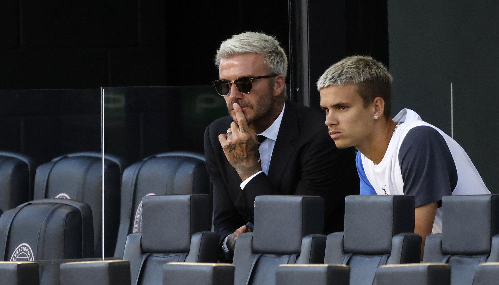 David ja Romeo Beckham