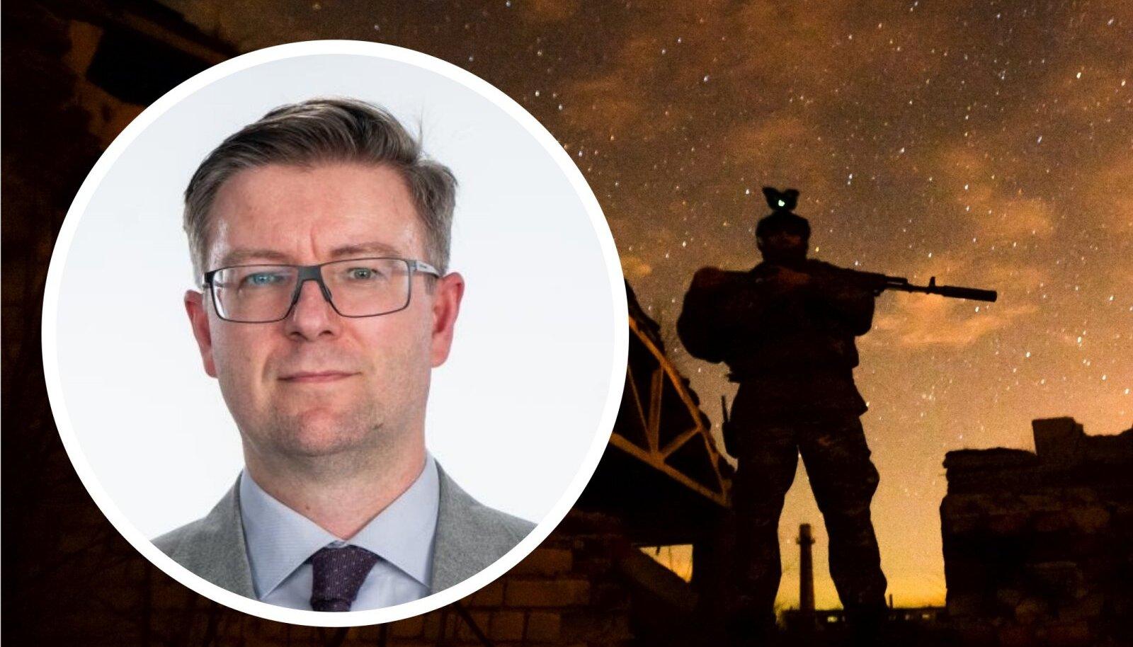 Eesti saadik Kiievis Kaimo Kuusk nendib, et kaevikusõda on juba Ida-Ukrainas kuumenenud
