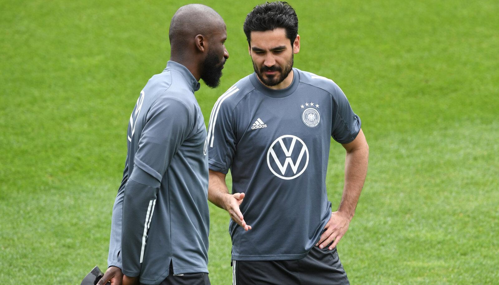 Antonio Rüdiger ja Ilkay Gündogan