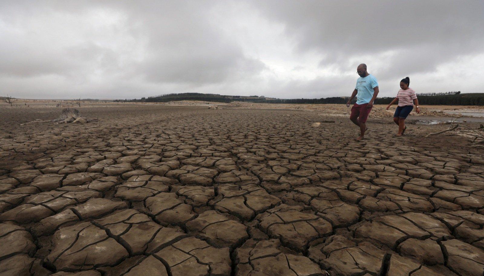 Põud Lõuna-Aafrikas. Ekstreemne kuumus ajab lähiaastatel liikvele miljoneid kliimapagulasi.