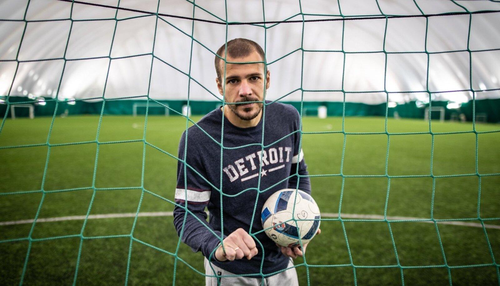 Sergei Lepmetsa kindel mäng on jäänud inimestele silma nii FCI Levadia kui ka Eesti koondise särgis.