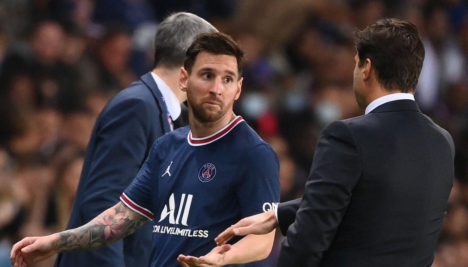 Lionel Messi ja Mauricio Pochettino