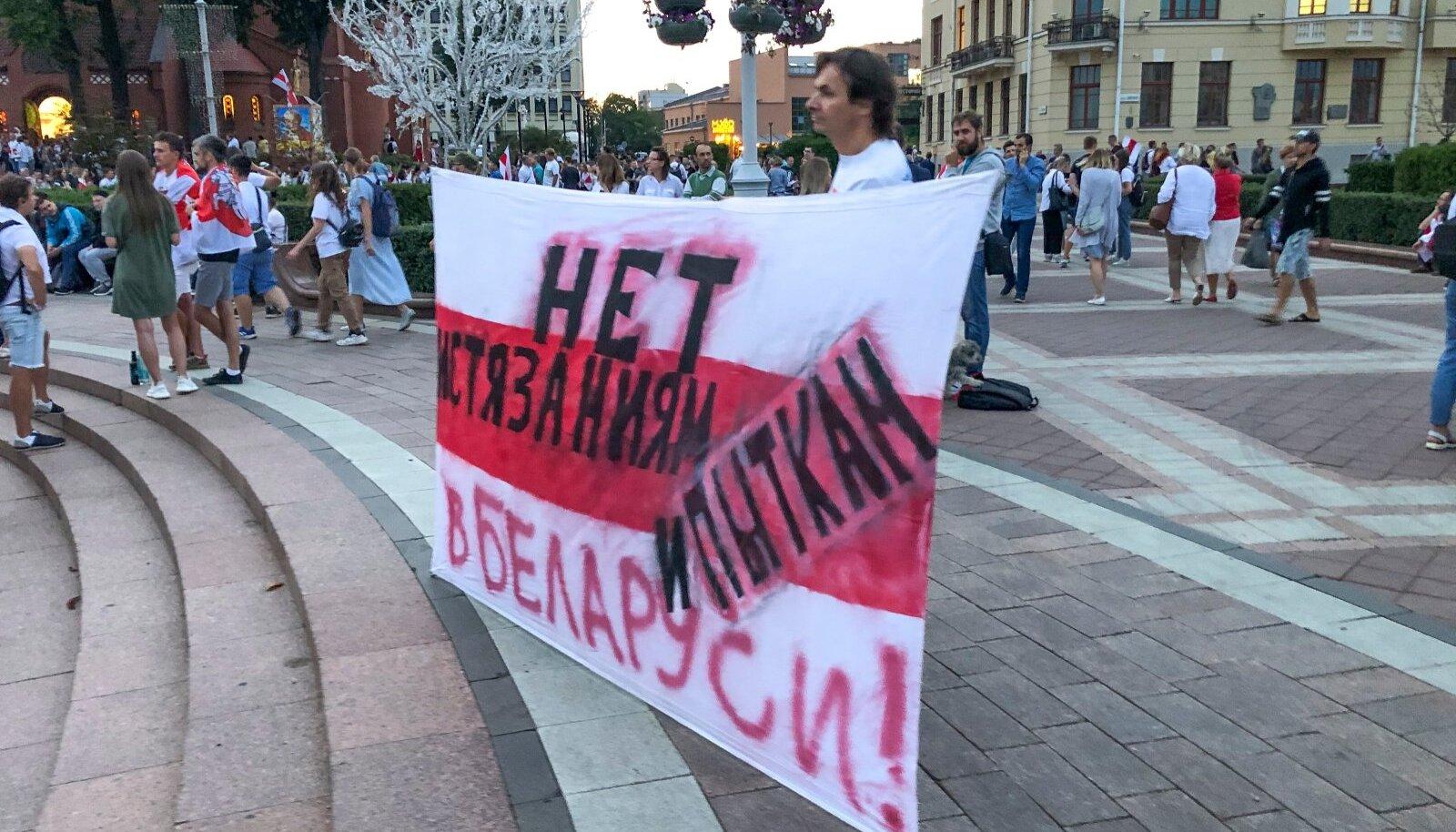 Minsk 18. august 2020.
