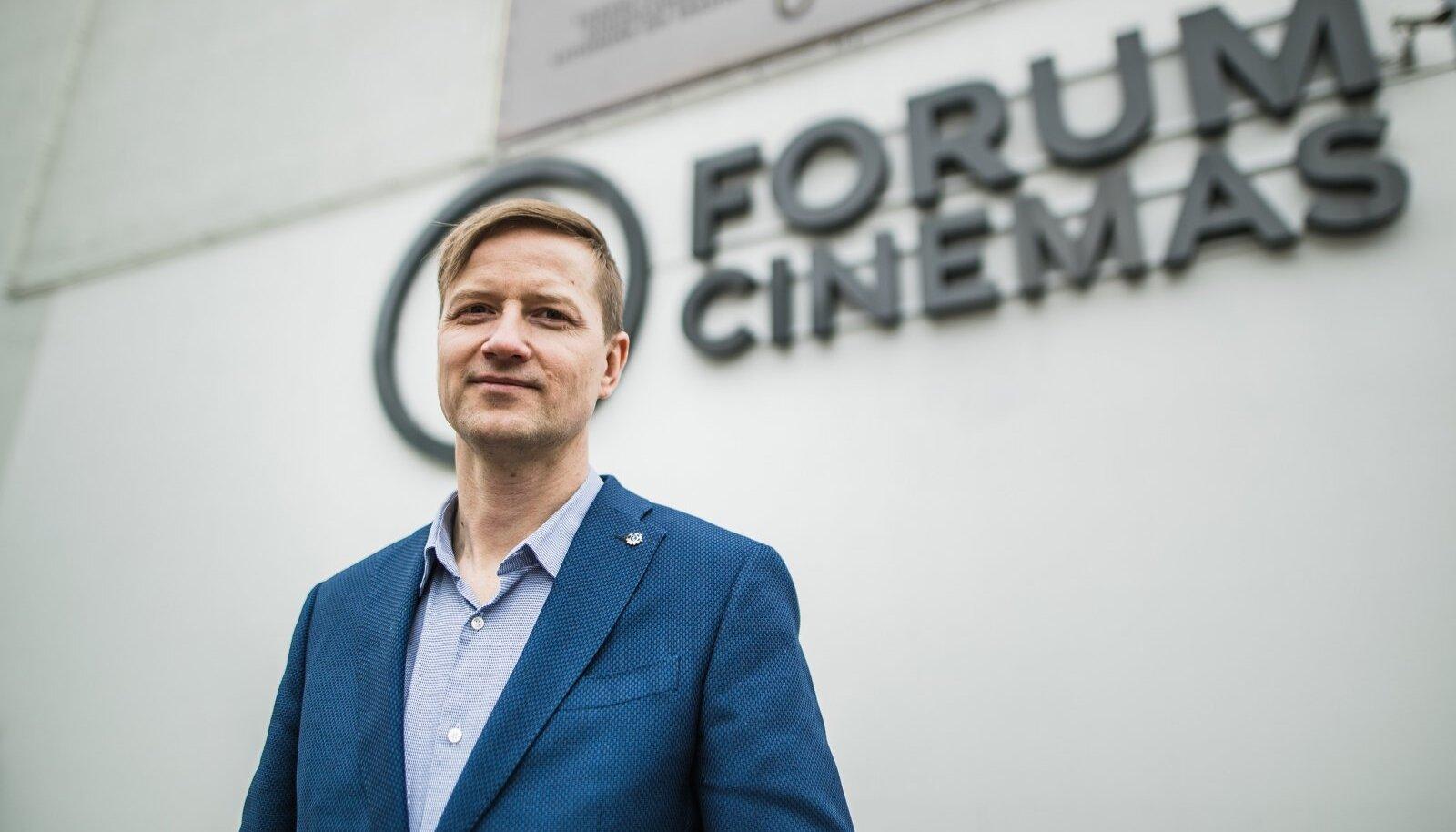 Forum Cinemas juht Kristjan Kongo