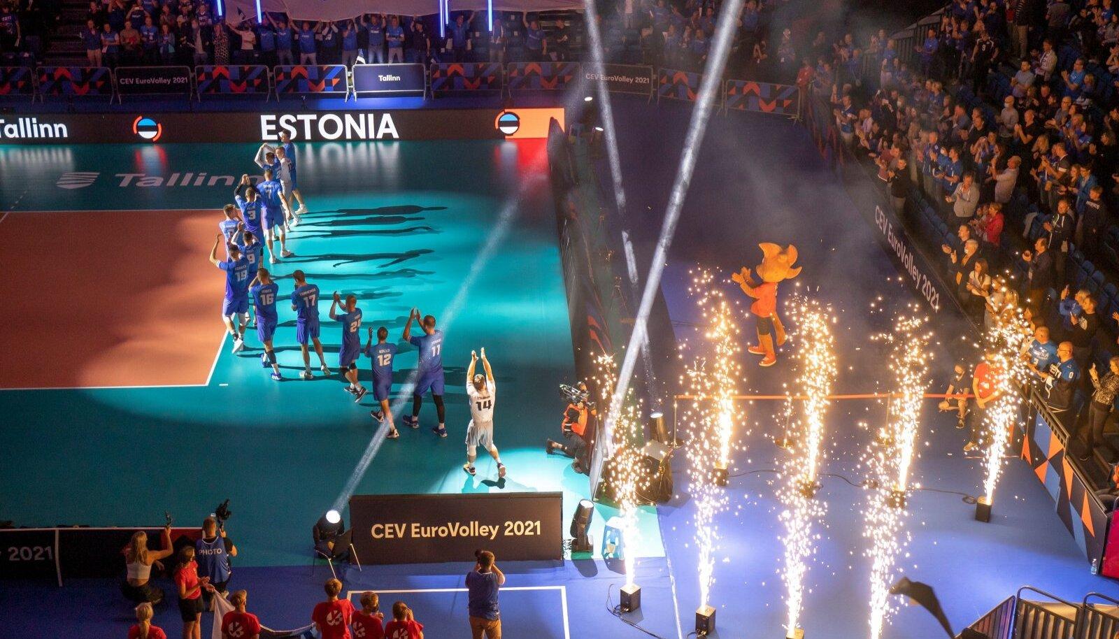 Eesti vs Läti võrkpall 1.09.2021