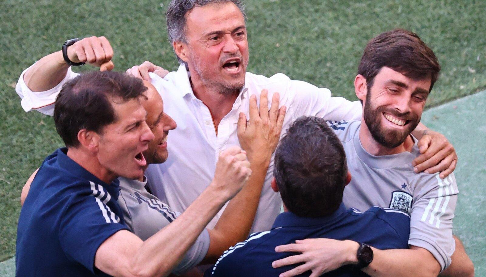 Luis Enrique tüüris Hispaania suurturniiril üle mõne aja veerandfinaali. Viimati jõuti nii kaugele 2012. aastal.