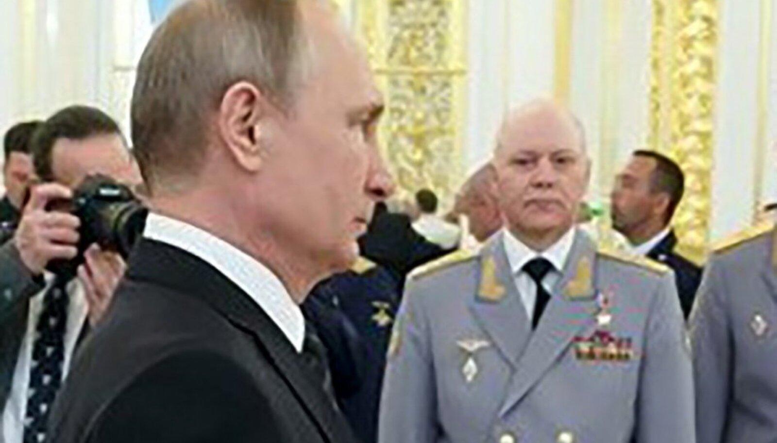 Vladimir Putin ja Igor Korobov
