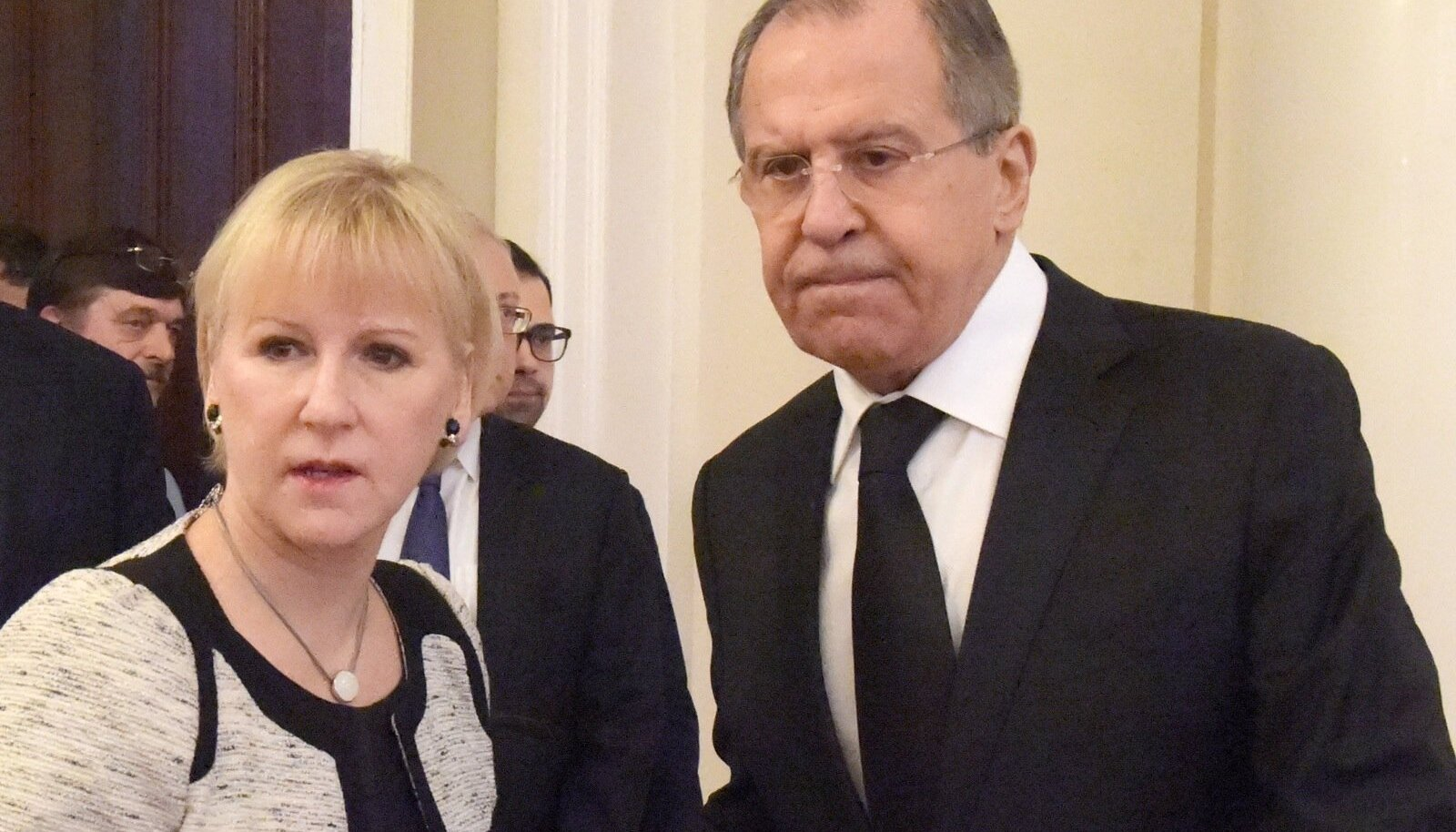 Margot Wallström ja Sergei Lavrov