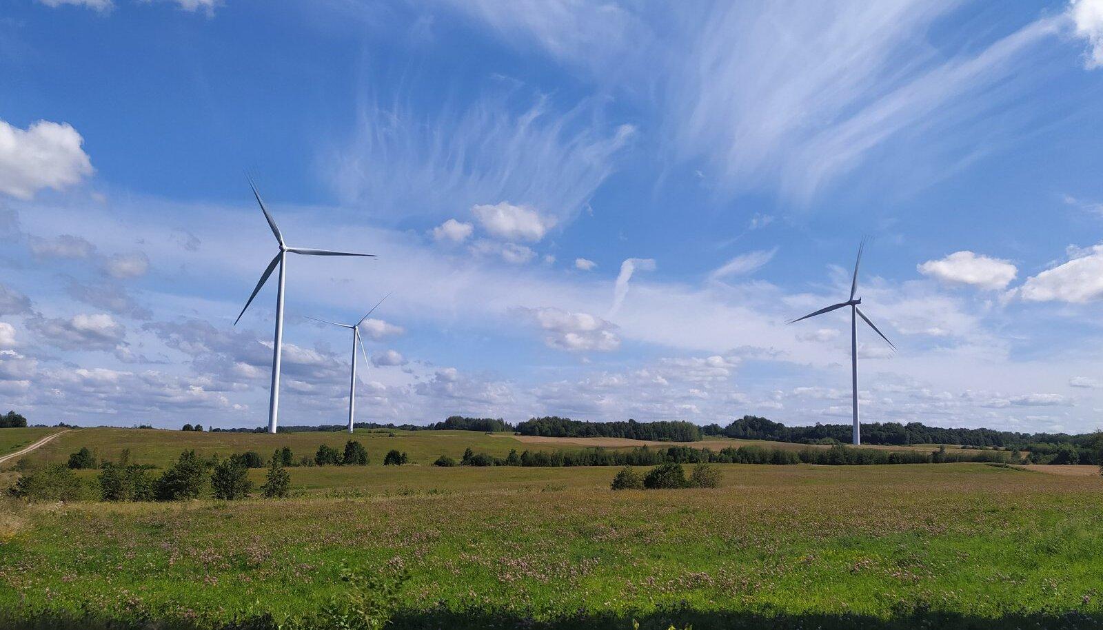 Šilale I tuulepark Leedus
