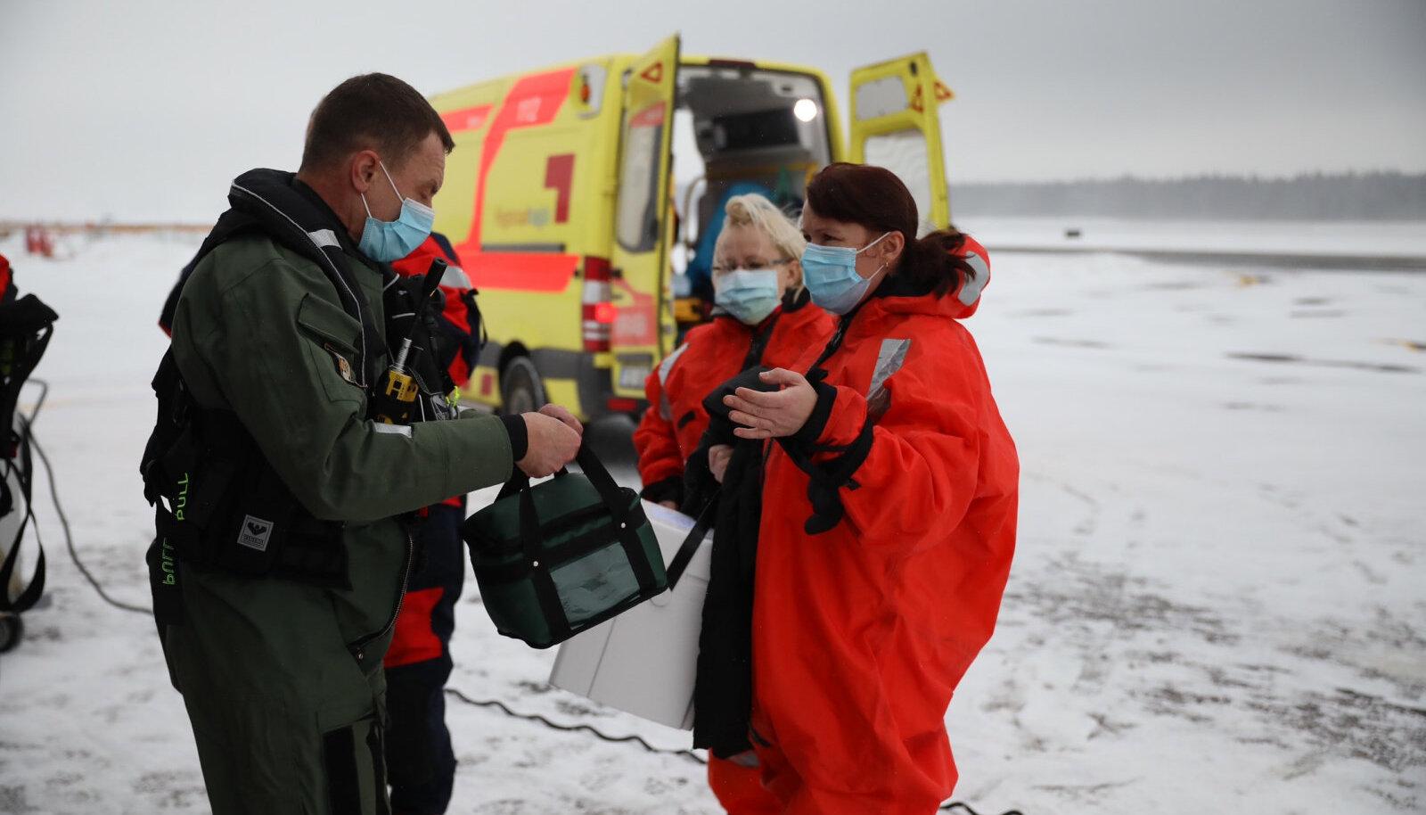 Regionaalhaigla vaktsineeris kaks kuud tagasi pea terve Ruhnu elanikkonna