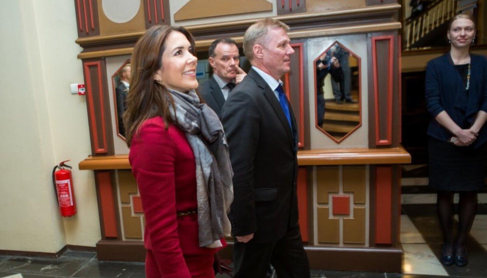 Taani kroonprintsess Mary Mustpeade majas