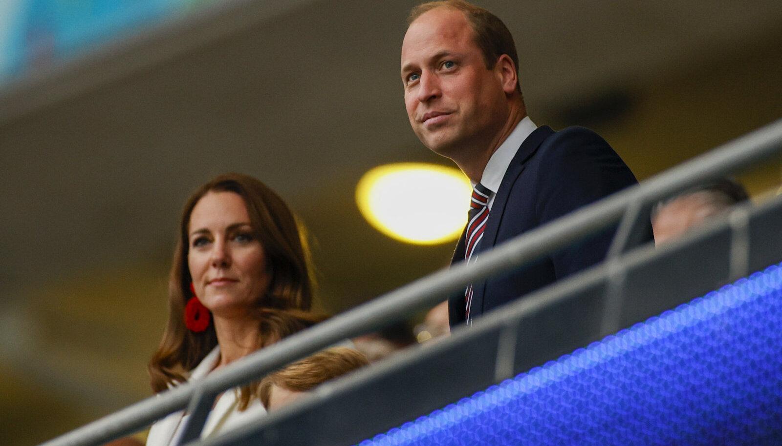 Kate ja William pühapäevases finaalis