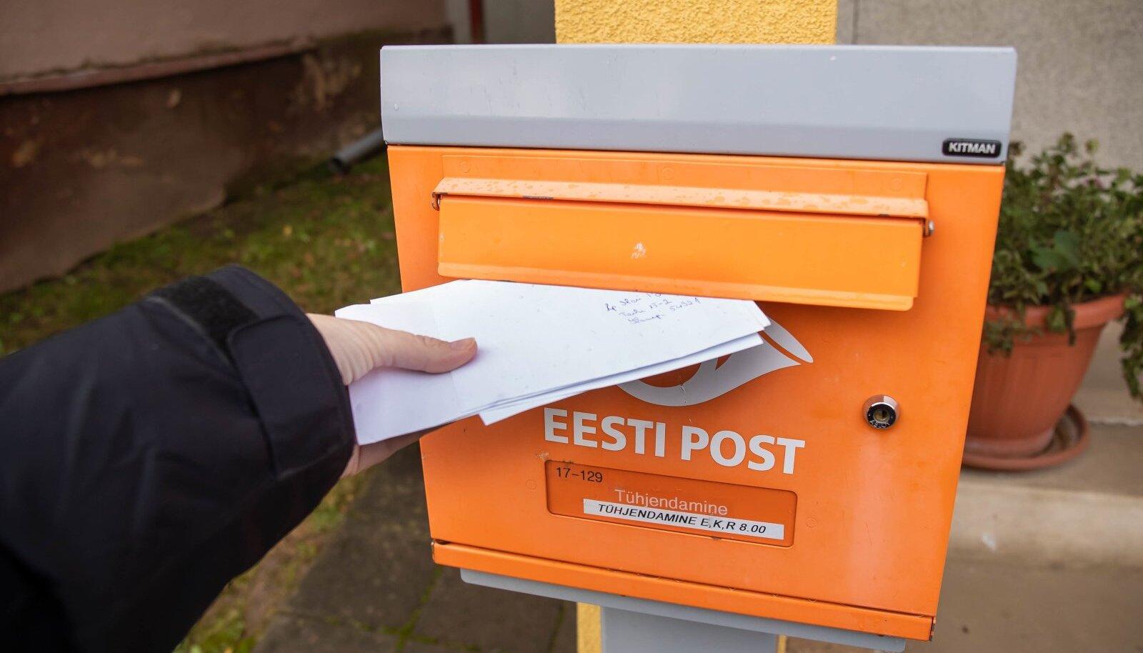 Eesti Post on likvideerinud pea pooled kirja...