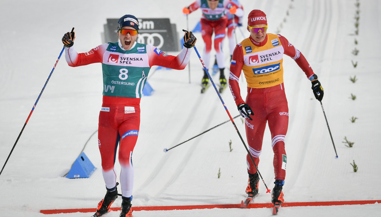 Pal Golberg ja Aleksandr Bolšunov