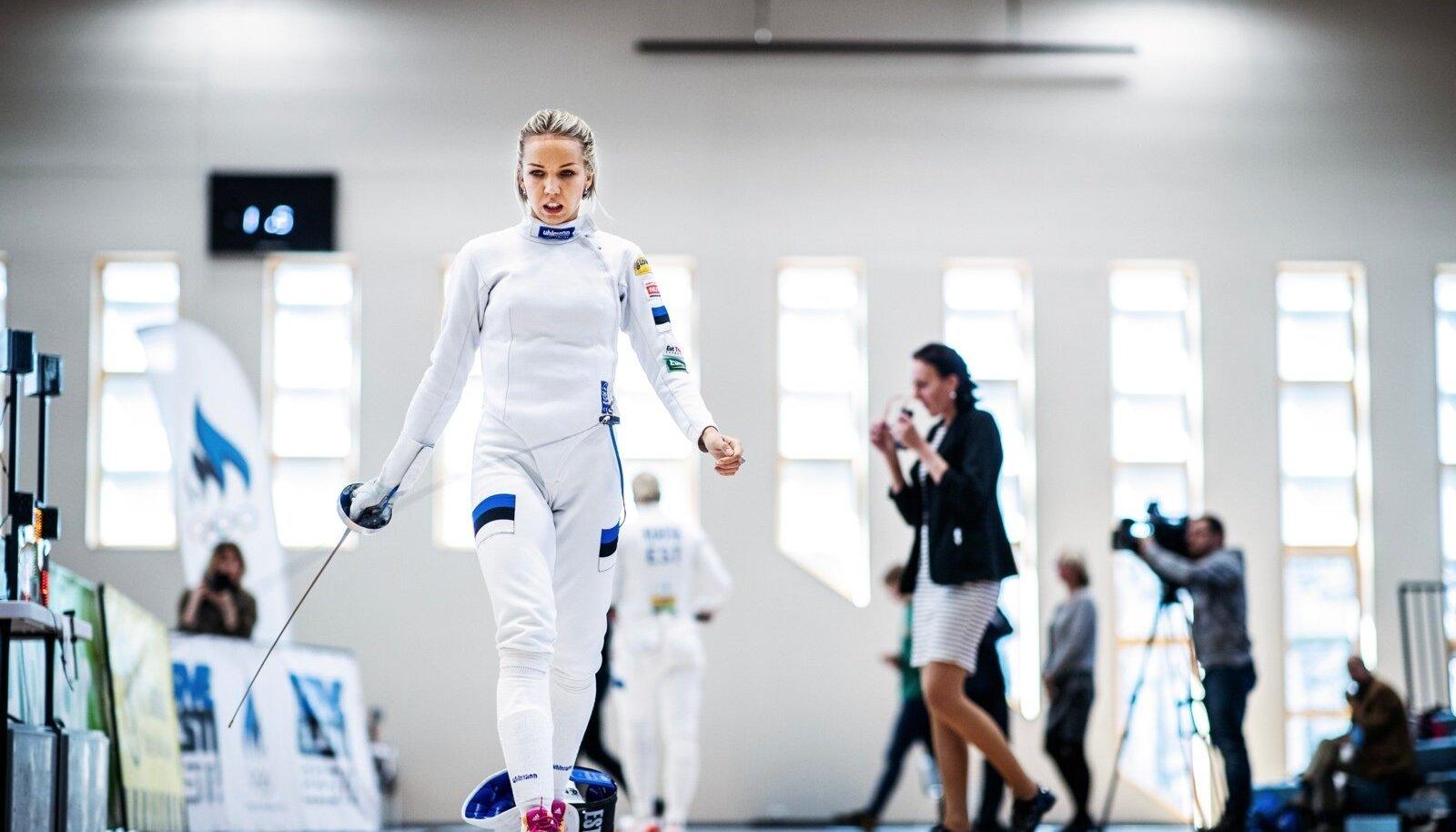 Sõle spordihallis toimusid Eesti epeevehklemise meistrivõistlused. 21.04.2018