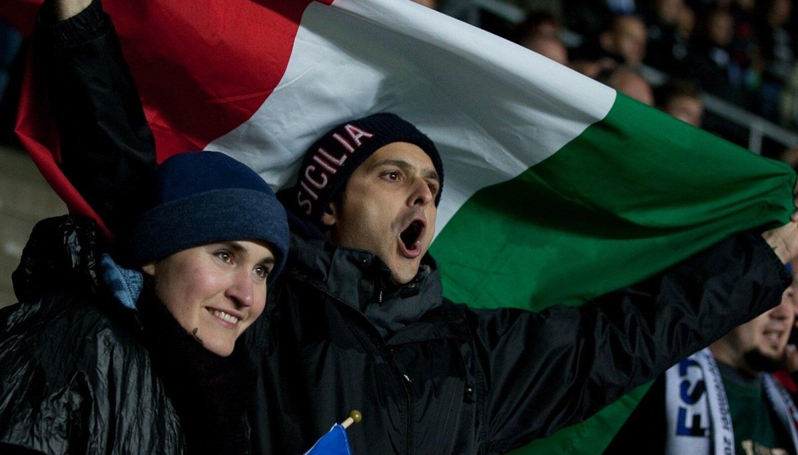 Itaalia-Eesti jalgpall