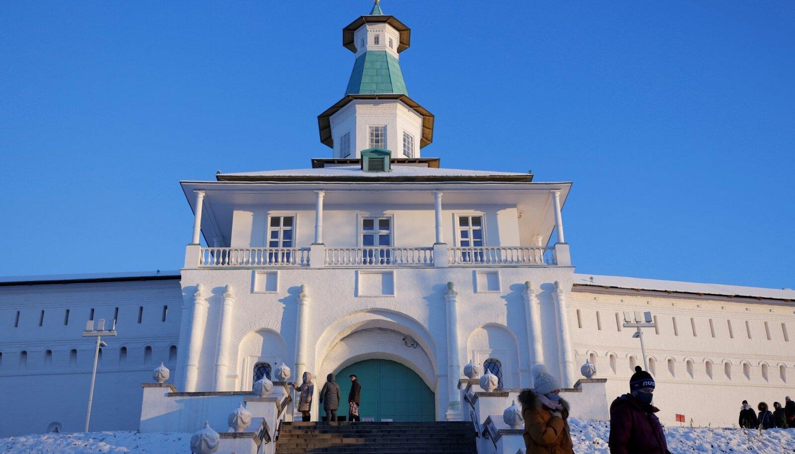 Uus-Jeruusalemma klooster Moskvas 5. detsembril 2020. aastal